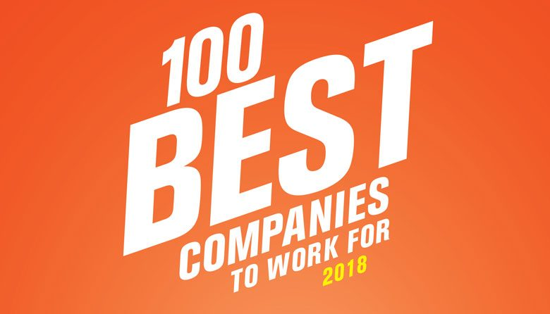 a8a949dd933 100 Best Companies to Work For 2018