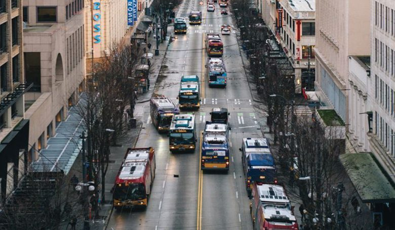 The downtown Seattle street is among the busiest bus corridors in the country