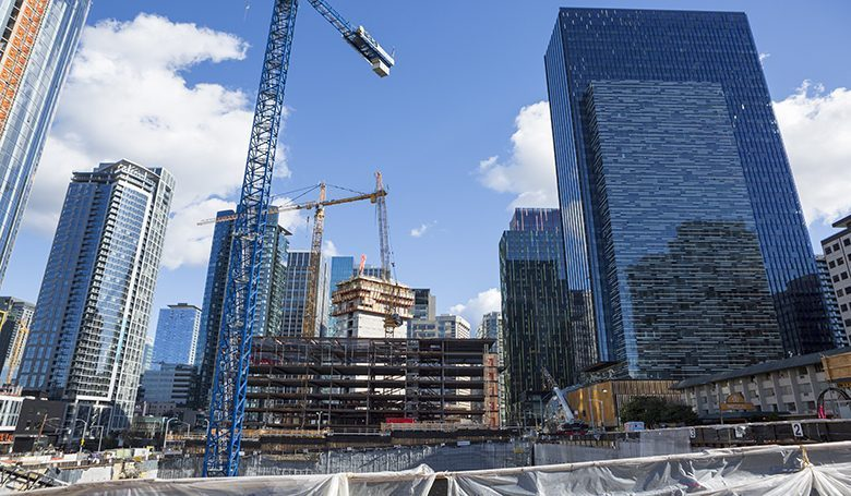 Puget Sound region boasts record-high job, construction and investment activity, report shows