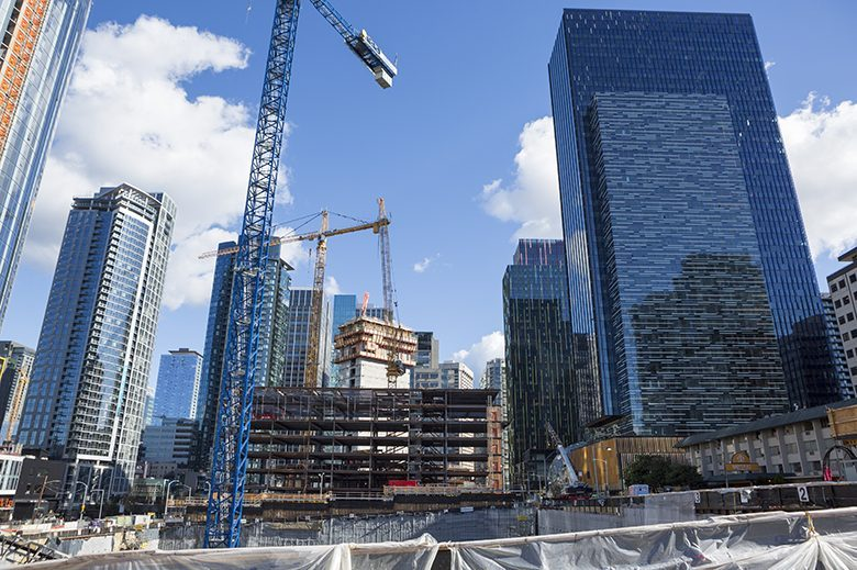 The city led the way in space absorbed, driven by robust tech-firm leasing activity