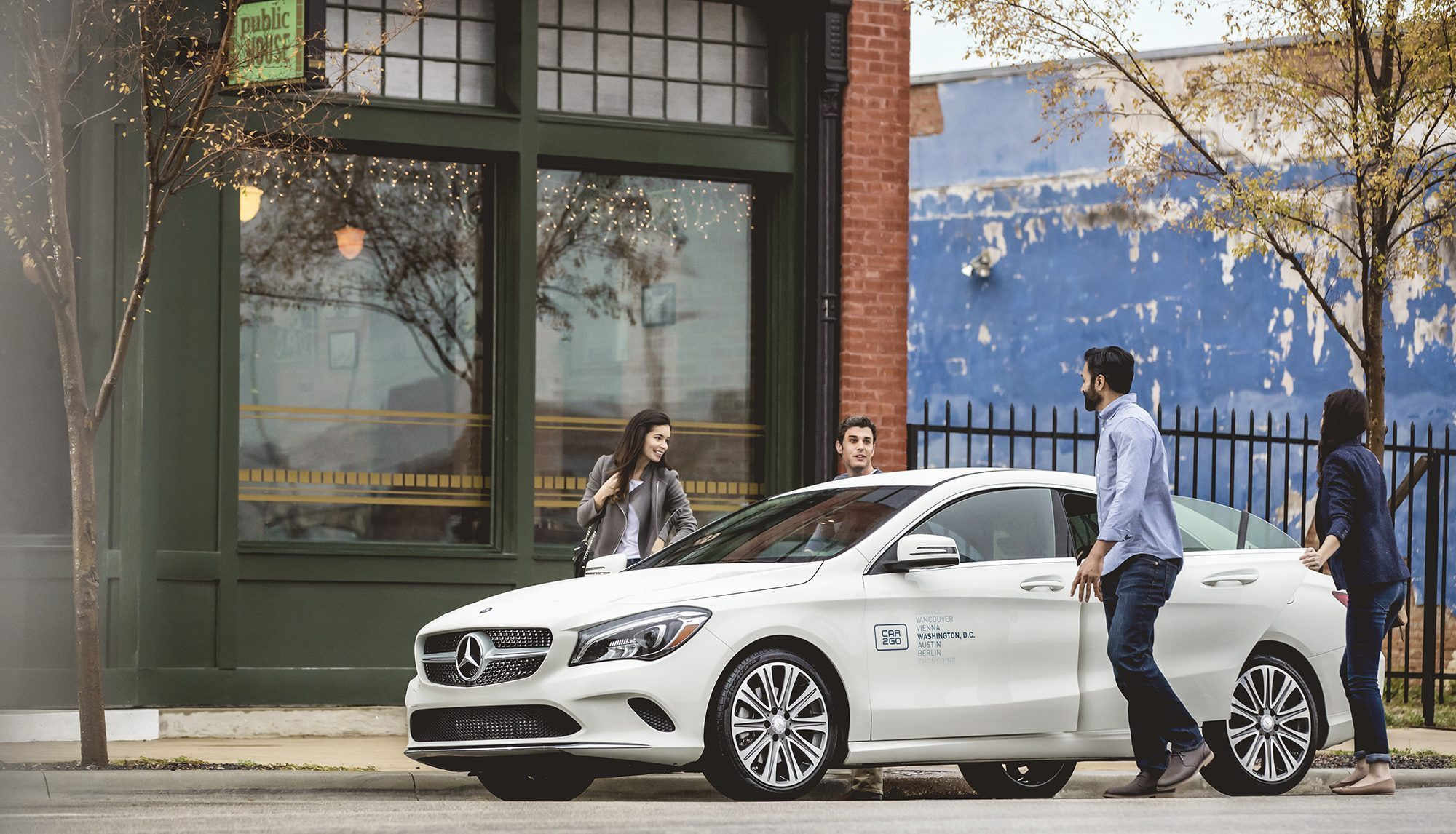 Every car2go in seattle will soon be a mercedes benz for Mercedes benz seattle service