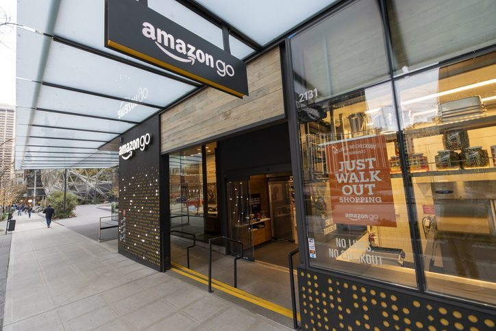 Amazon One, the tech giant's new palm scanning technology, will first be implemented in two Amazon Go stores in Seattle