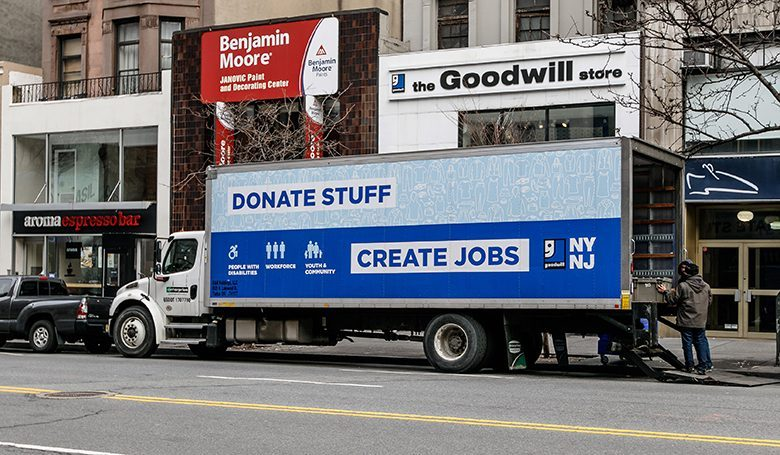The tech company's online marketplace will feature second-hand goods for sale from 100 Goodwill stores nationwide