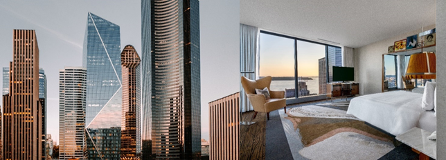 The Seattle location is Lotte Hotels & Resorts' third in the United States
