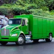 Kenworth diesel-electric hybrid truck