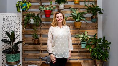 Now a small-business owner, she also believes a key ingredient for any successful venture is believing in yourself