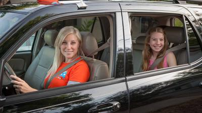 HopSkipDrive is like an Uber or Lyft for children