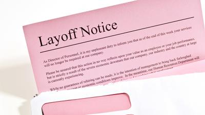 The layoffs at the company, which makes a patented sonic face brush, are part of facility closure, federal filing shows