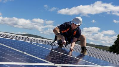 The company plans to use the funding to expand its reach in the multibillion-dollar U.S. solar energy market